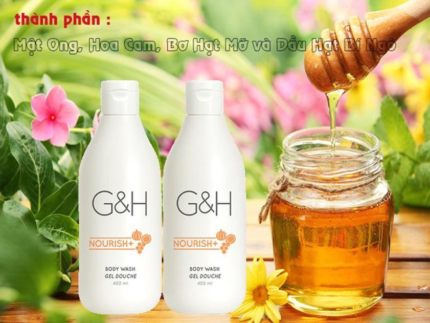 sua-tam-duong-am-dang-kem-G&H-Nourish+ 3