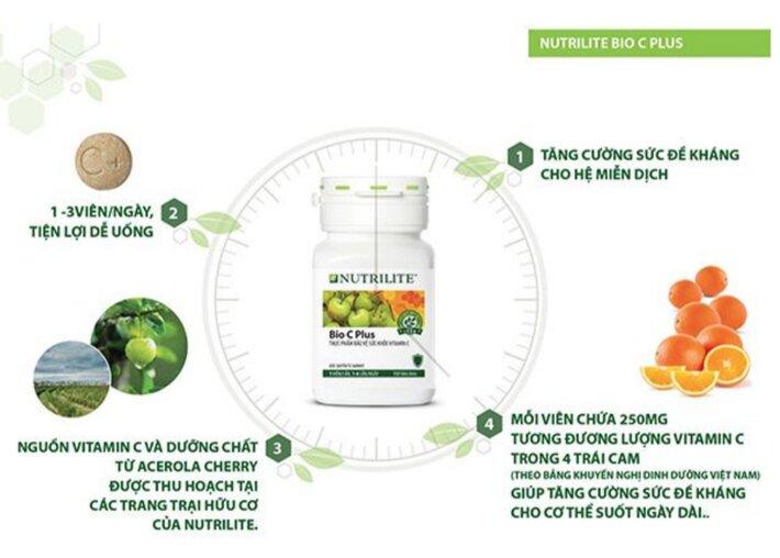 vitamin c cua amway co tot khong