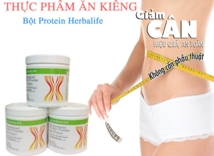 cong dung bot protein herbalife f3