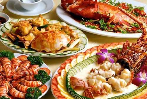 hải sản giàu canxi