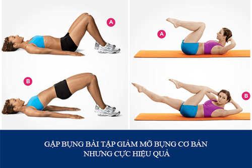 tập thể dục giảm mỡ
