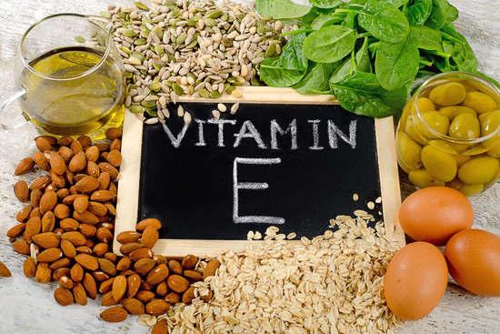 Các công dụng đáng kể của Vitamin E
