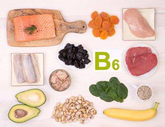 Vitamin B6 chứa nhiều trong thực phẩm nào1